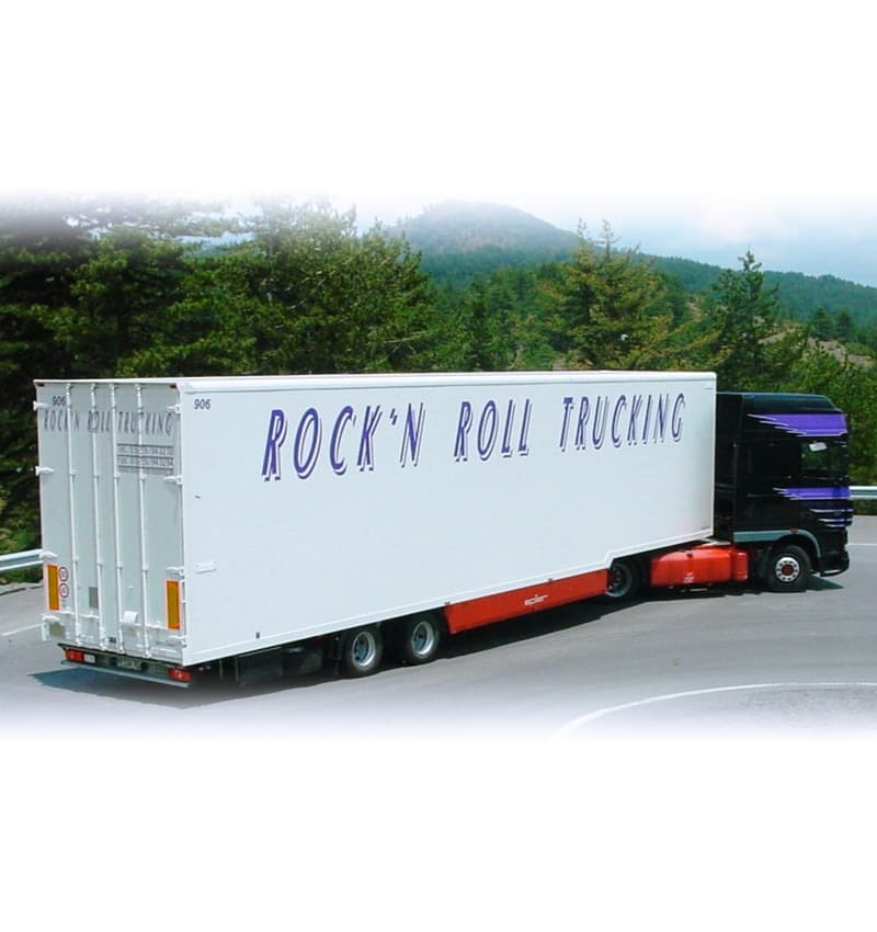 composite panel semi-trailer