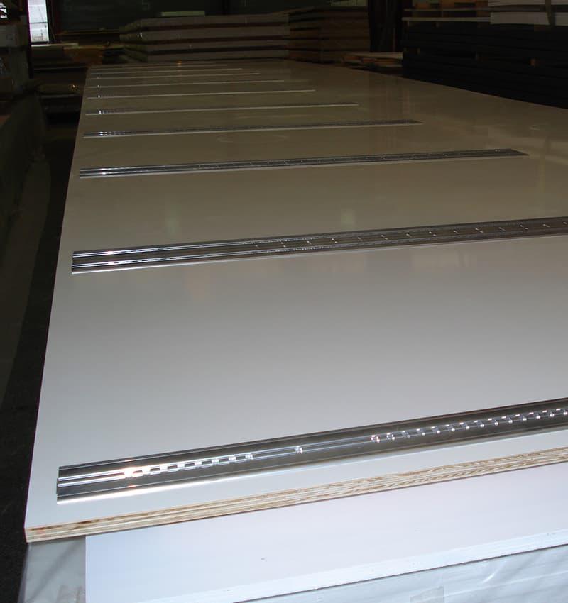 Custom composite panel