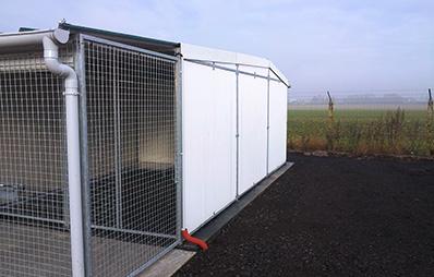 shelters Carlier Plastiques GRP Panels