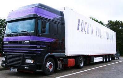 box van truck Carlier Plastiques GRP Panels