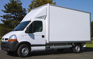 light truck Carlier Plastiques GRP Panels