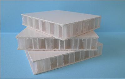 Panneau en âme nid d'abeille NIDALIT NA45L Carlier Plastiques panneaux composites