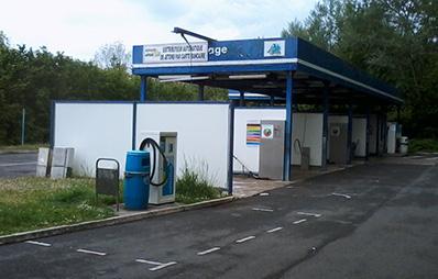 station de lavage Carlier Plastiques panneaux composites