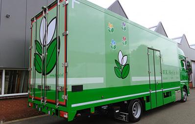 véhicule isotherme Carlier Plastiques panneaux composites